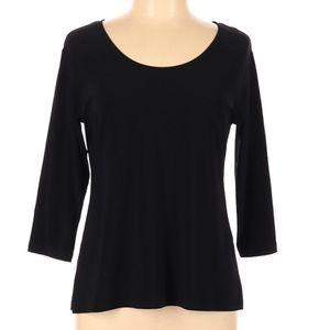 Sympli the Best long sleeve black blouse size 10